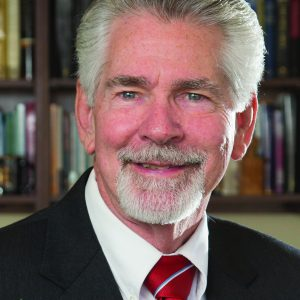 Provost of Liberty University Dr. Ron Hawkins February 27, 2015. Photo by David Duncan